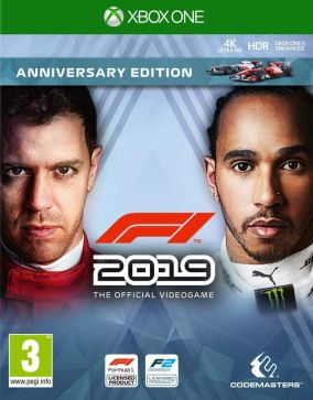 Copertina del gioco F1 2019 per Xbox One
