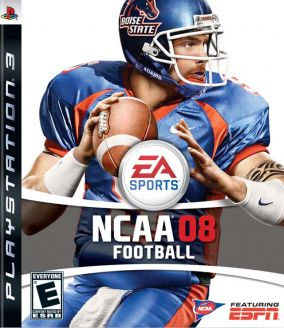 Copertina del gioco NCAA Football 08 per PlayStation 3