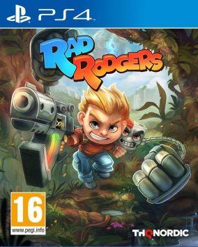 Copertina del gioco Rad Rodgers per PlayStation 4