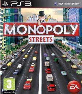Immagine della copertina del gioco Monopoly Streets per PlayStation 3