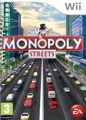 Immagine della copertina del gioco Monopoly Streets per Nintendo Wii
