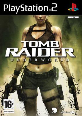 Immagine della copertina del gioco Tomb Raider: Underworld per PlayStation 2