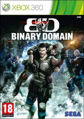 Copertina del gioco Binary Domain per Xbox 360