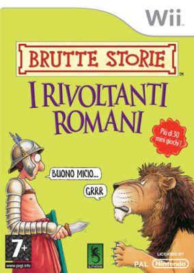 Immagine della copertina del gioco Brutte Storie: I Rivoltanti Romani per Nintendo Wii