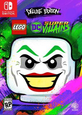 Immagine della copertina del gioco LEGO DC Super-Villains per Nintendo Switch