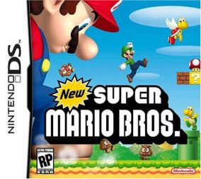 Immagine della copertina del gioco New Super Mario Bros per Nintendo DS