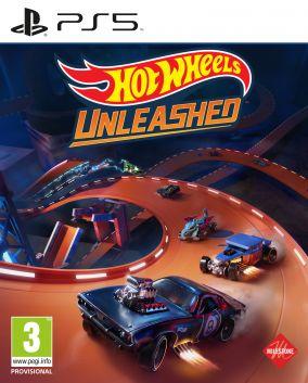 Copertina del gioco Hot Wheels Unleashed per PlayStation 5