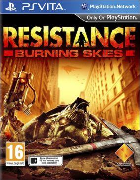 Copertina del gioco Resistance: Burning Skies per PSVITA