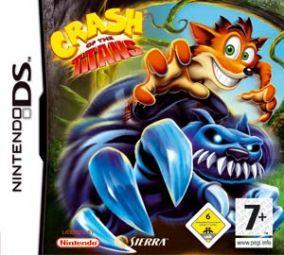 Immagine della copertina del gioco Crash of the Titans per Nintendo DS