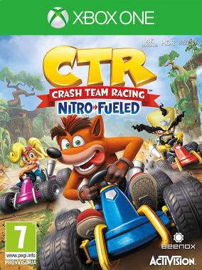 Copertina del gioco Crash Team Racing Nitro Fueled per Xbox One