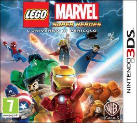 Immagine della copertina del gioco LEGO Marvel Super Heroes: L'Universo in Pericolo per Nintendo 3DS