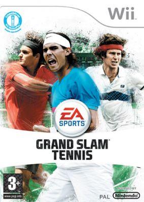 Immagine della copertina del gioco Grand Slam Tennis per Nintendo Wii