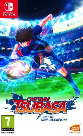 Immagine della copertina del gioco Captain Tsubasa: Rise of New Champions per Nintendo Switch