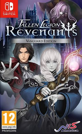 Copertina del gioco Fallen Legion Revenants per Nintendo Switch