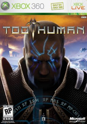 Immagine della copertina del gioco Too Human per Xbox 360