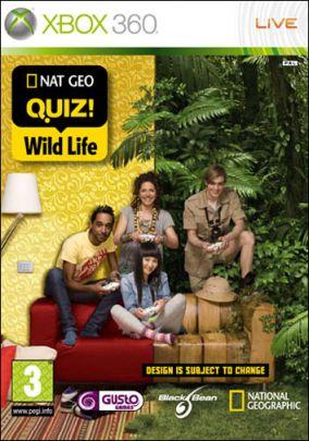 Immagine della copertina del gioco NatGeo Quiz! Wild Life per Xbox 360