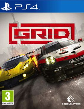 Copertina del gioco GRID per PlayStation 4