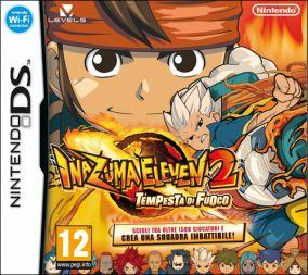 Copertina del gioco Inazuma Eleven 2: Tempesta di Fuoco per Nintendo DS