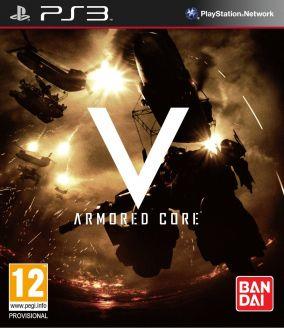 Copertina del gioco Armored Core V per PlayStation 3