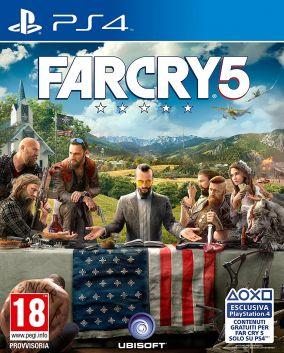 Immagine della copertina del gioco Far Cry 5 per Playstation 4
