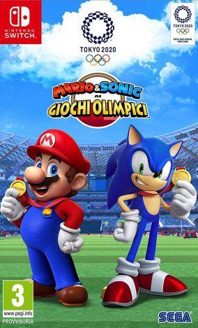 Copertina del gioco Mario & Sonic ai Giochi Olimpici di Tokyo 2020 per Nintendo Switch