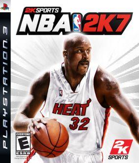 Copertina del gioco NBA 2K7 per PlayStation 3