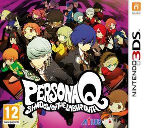 Immagine della copertina del gioco Persona Q: Shadow of the Labyrinth per Nintendo 3DS