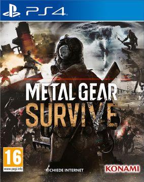 Immagine della copertina del gioco Metal Gear Survive per Playstation 4