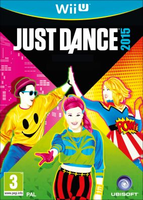 Immagine della copertina del gioco Just Dance 2015 per Nintendo Wii U