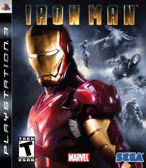 Copertina del gioco Iron man per PlayStation 3