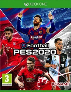 Immagine della copertina del gioco eFootball PES 2020 per Xbox One