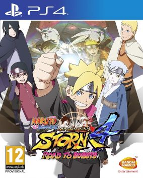 Copertina del gioco Naruto Shippuden Ultimate Ninja Storm 4: Road to Boruto  per PlayStation 4