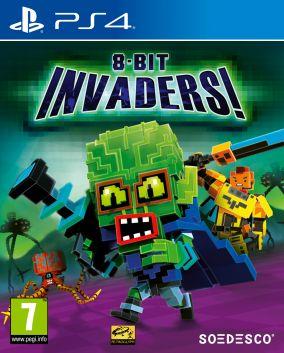 Copertina del gioco 8-Bit Invaders! per PlayStation 4