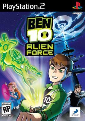 Copertina del gioco Ben 10: Alien Force - The Game per PlayStation 2