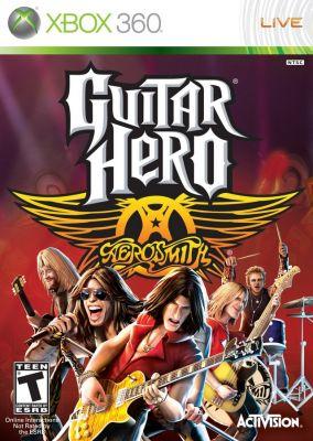 Copertina del gioco Guitar Hero: Aerosmith per Xbox 360