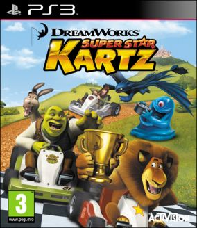 Copertina del gioco DreamWorks Superstar Kartz per PlayStation 3