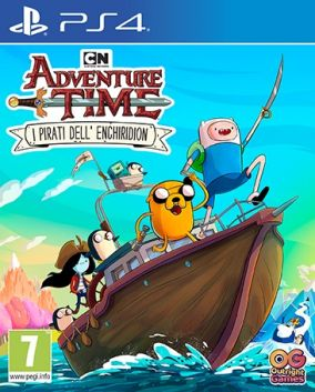 Copertina del gioco Adventure Time: i Pirati dell'Enchiridion per PlayStation 4