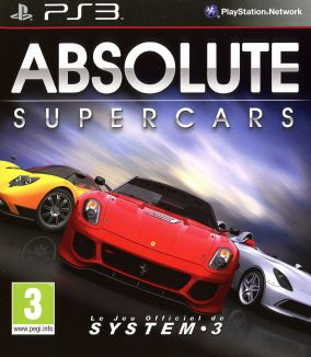 Copertina del gioco Absolute Supercars per PlayStation 3