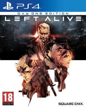 Immagine della copertina del gioco Left Alive per PlayStation 4