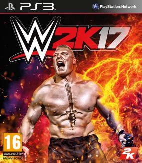 Immagine della copertina del gioco WWE 2K17 per PlayStation 3