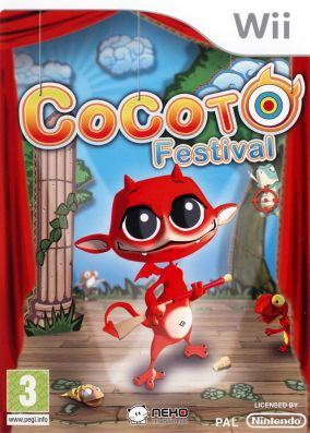 Immagine della copertina del gioco Cocoto Festival per Nintendo Wii