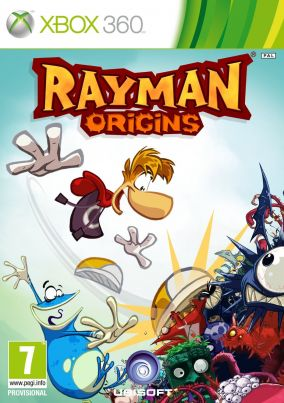 Copertina del gioco Rayman Origins per Xbox 360