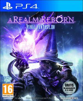 Immagine della copertina del gioco Final Fantasy XIV: A Realm Reborn per PlayStation 4