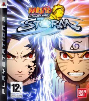 Copertina del gioco Naruto: Ultimate Ninja Storm per PlayStation 3