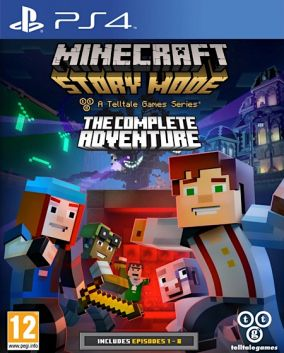 Copertina del gioco Minecraft: Story Mode per Playstation 4