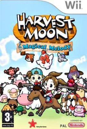 Immagine della copertina del gioco Harvest Moon: Magical Melody per Nintendo Wii