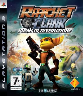 Copertina del gioco Ratchet & Clank: Armi di Distruzione per PlayStation 3