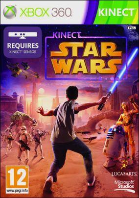 Copertina del gioco Kinect Star Wars per Xbox 360