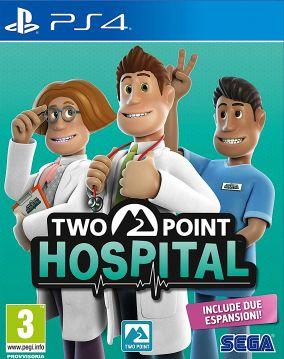 Copertina del gioco Two Point Hospital per PlayStation 4