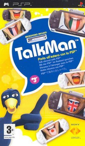 Immagine della copertina del gioco TalkMan per PlayStation PSP